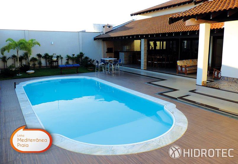 Piscina de fibra kisol mediterr nea praia piscinas de for Piscinas de fibra de ocasion