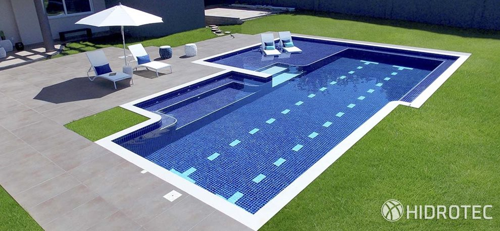 Piscina de concreto RS